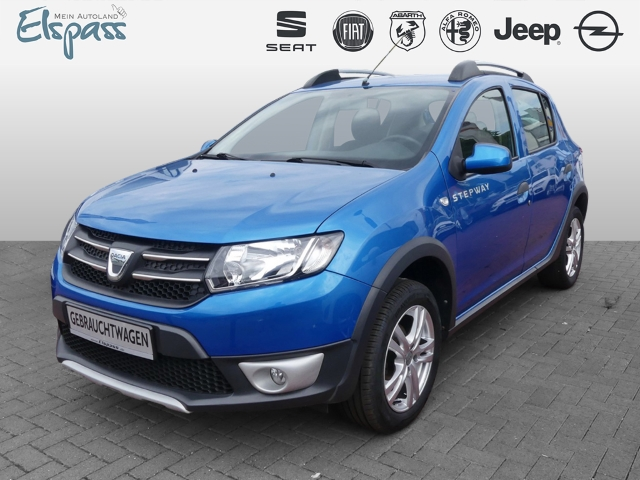 Dacia Sandero II Stepway Prestige NAVI KLIMA TEMPO PDC, Jahr 2014, Benzin