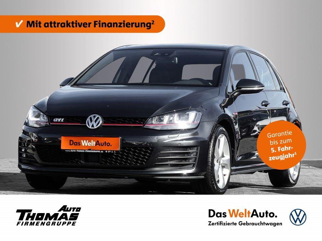 Volkswagen Golf VII GTI 2.0 TSI 220PS DSG Panoramadach, Jahr 2013, Benzin