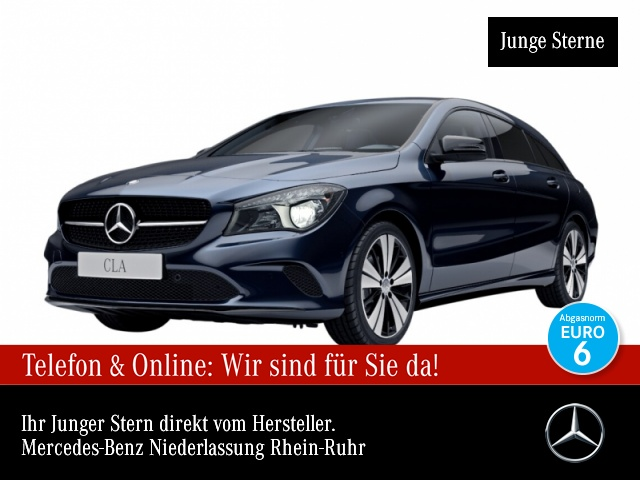 Mercedes-Benz CLA 220 d SB Urban Night Navi Laderaump 7G-DCT, Jahr 2016, Diesel