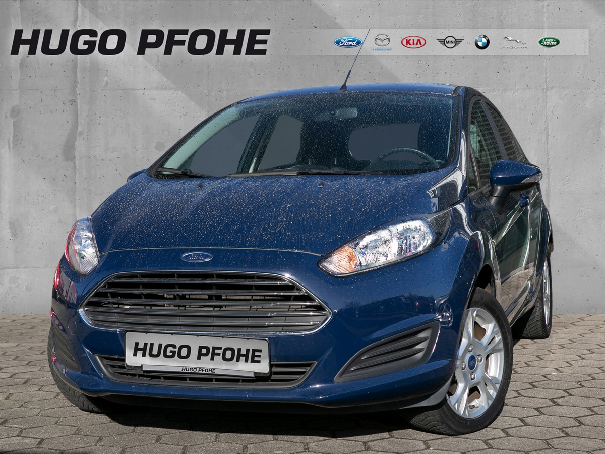 Ford Fiesta SYNC Edition 1.0 59 kW. 5-türig Klima, Jahr 2014, Benzin