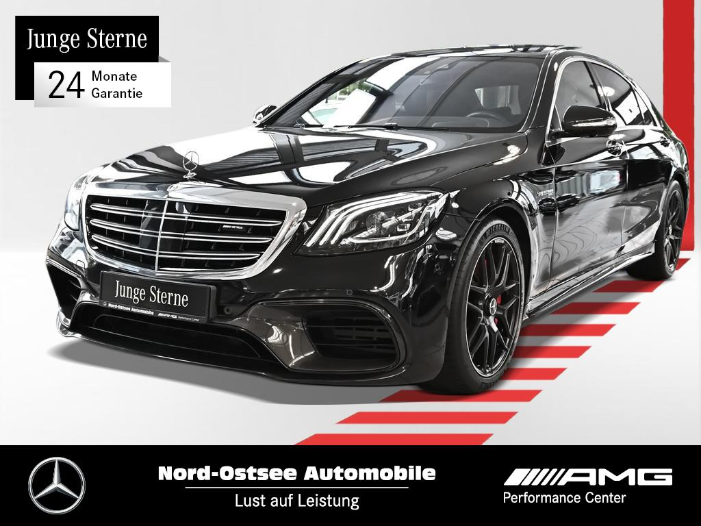 Mercedes-Benz AMG S 63 4M+ lang Multibeam HUD Pano Burmester, Jahr 2017, Benzin