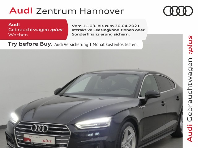 Audi A5 Sportback 2.0 TDI Sport, S line, ACC, Navi, Alcantara, Xenon, Jahr 2019, Diesel
