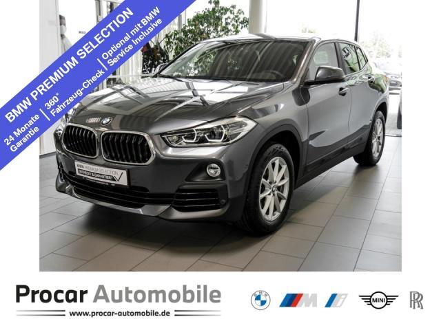 BMW X2 sDrive18i // Navi AHK LED PDC Shzg., Jahr 2019, Benzin