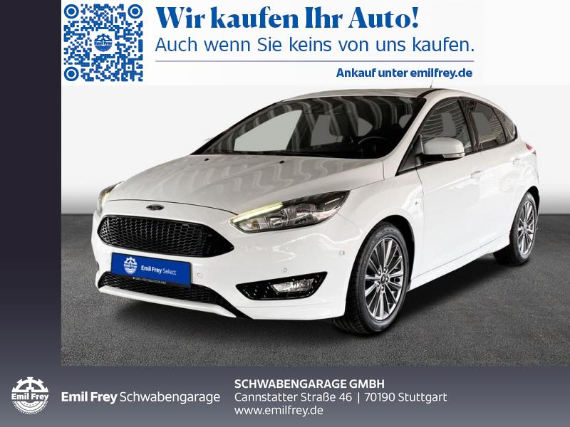 Ford Focus 1.0 EcoBoost Start-Stopp-System ST-Line, Jahr 2018, Benzin