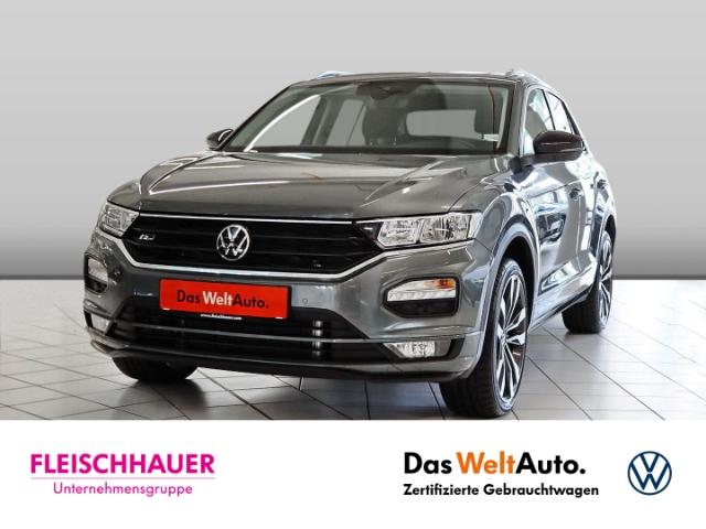 Volkswagen T-Roc United 1.5 TSI R-Line+AHK+Navi+19''+Pano+PDC+SHZ, Jahr 2021, Benzin