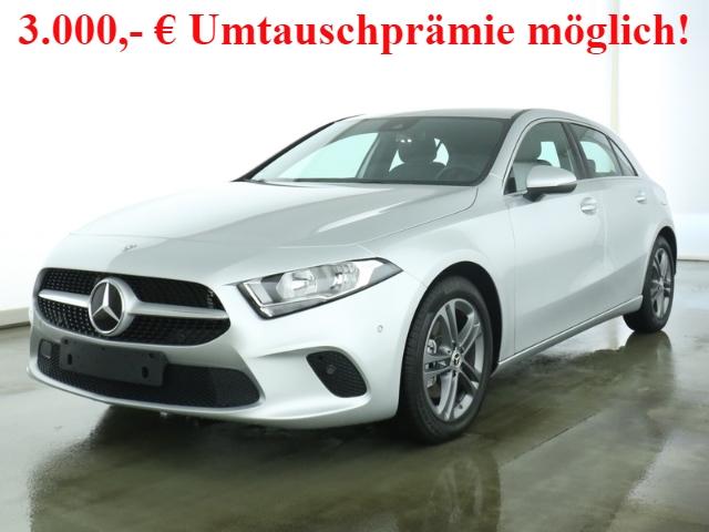 Mercedes-Benz A 200 Progressive+7G-DCT+Navi-Prem.+Business-Pak., Jahr 2019, Benzin