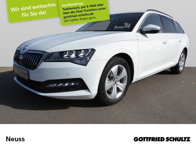 Skoda Superb Combi 2,0 TSI DSG NAVI LED KAMERA VIRTUAL Ambition, Jahr 2020, Benzin