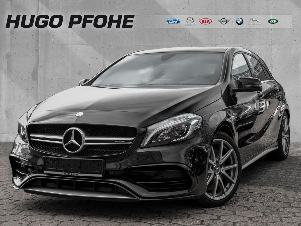 Mercedes-Benz A 45 AMG 4Matic Speedshift 7G-DCT Navi LED, Jahr 2017, Benzin