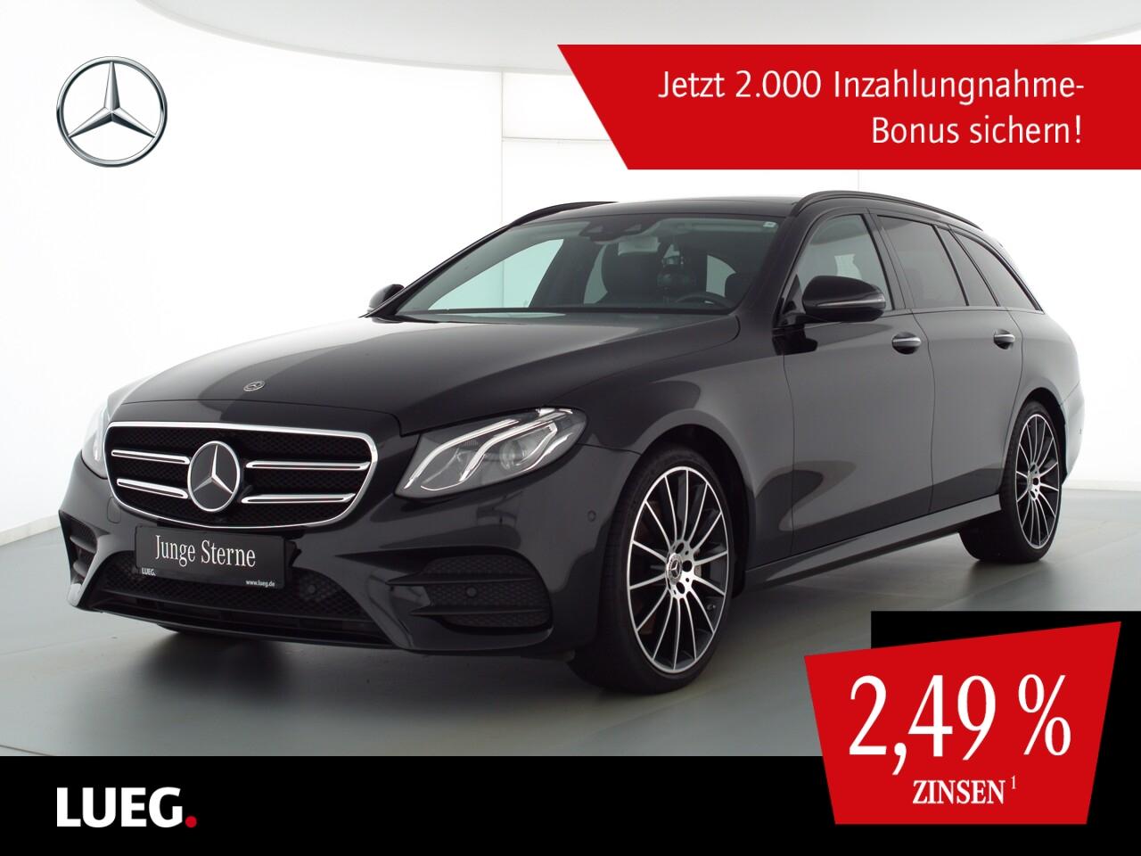 Mercedes-Benz E 400 T 4M AMG+COM+Pano+Burm+LED+AHK+20''+HUD+RF, Jahr 2018, Benzin