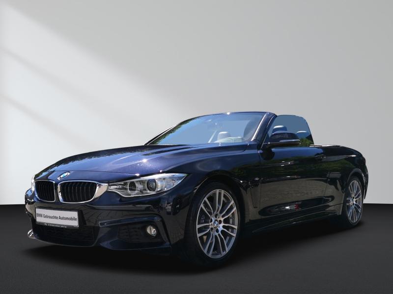 BMW 435i Cabrio M-Sportpaket Navi Professional Head-Up Innovationspaket Nackenwärmer Lenkradh., Jahr 2014, Benzin