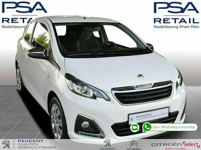 Peugeot 108 Style 68 VTi *Kamera/Sitzheizung*, Jahr 2018, Benzin