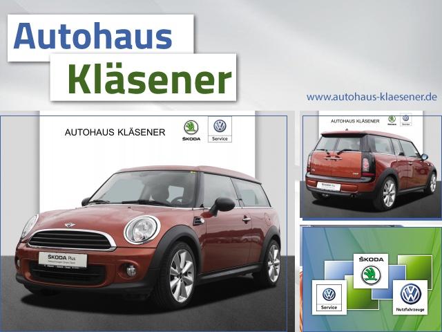 MINI One Clubmann 1.6 72 KW, Klimaautomatik,PDC,SHZ, Jahr 2014, Benzin