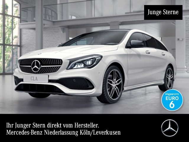 Mercedes-Benz CLA 250 SB AMG Pano LED Night Kamera Navi 7G-DCT, Jahr 2017, Benzin