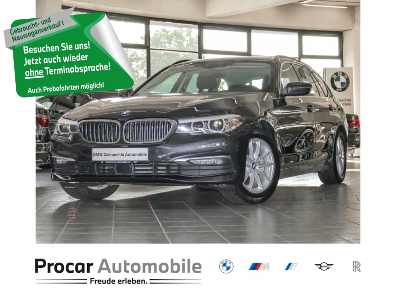 BMW 520d Touring Aut LED Navi Abstandstemp LED Alarm, Jahr 2018, Diesel