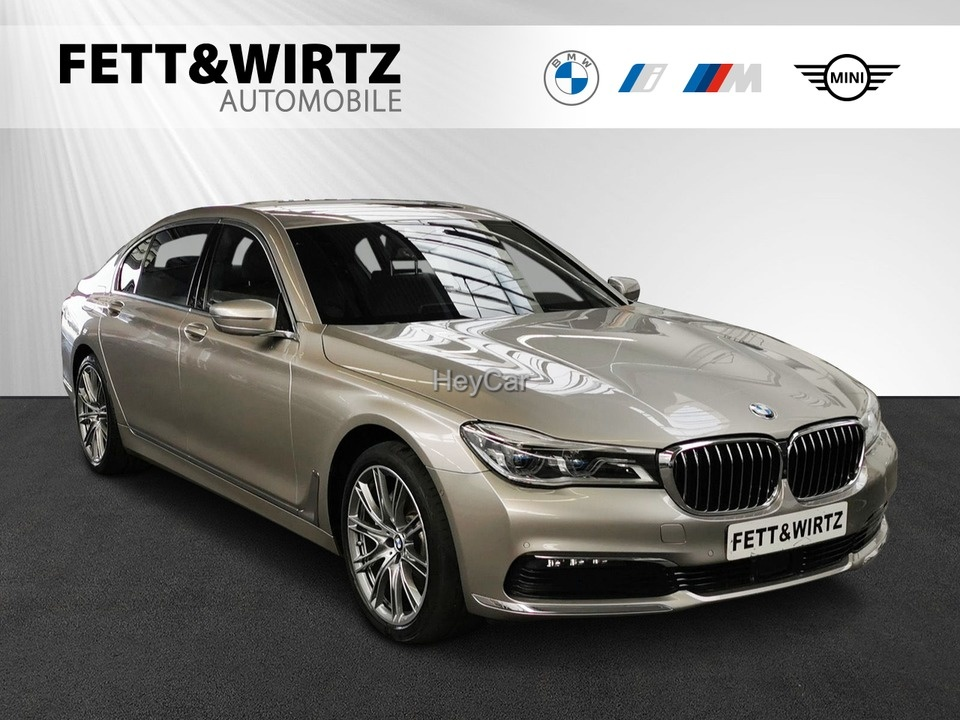 BMW 740Ld xDrive HUD TV Standhzg Laser Pano DA+, Jahr 2018, Diesel