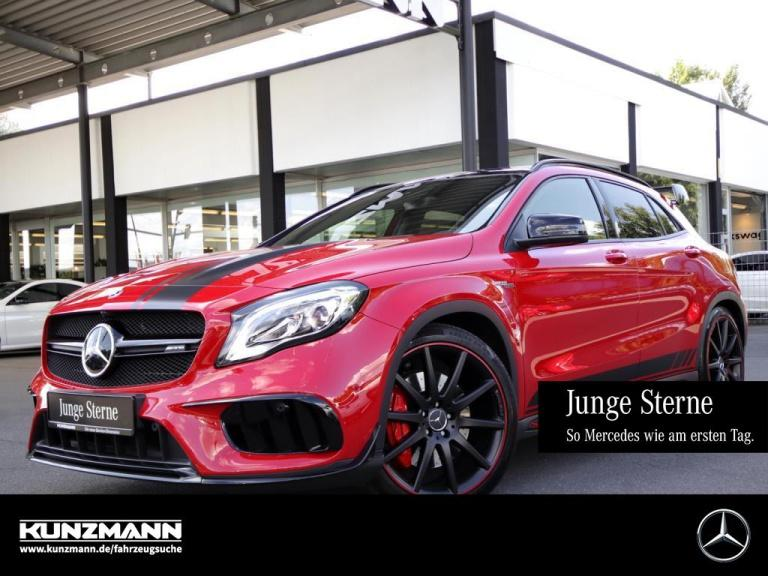 Mercedes-Benz GLA 45 AMG 4M Night Exklusiv Comand Panorama LED, Jahr 2018, Benzin