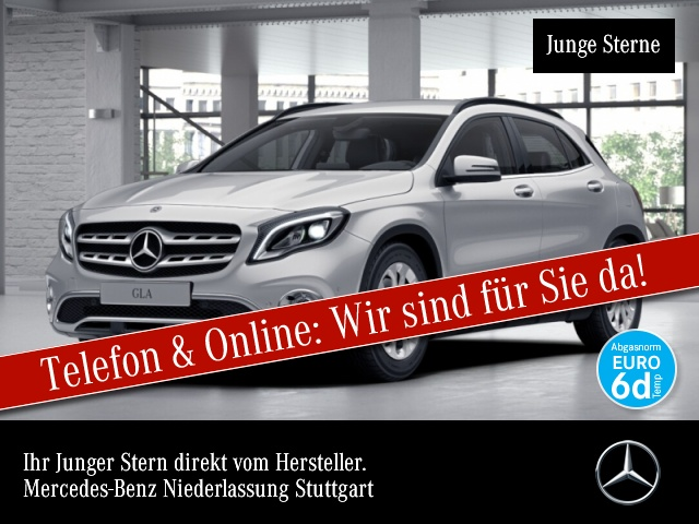 Mercedes-Benz GLA 250 4M Style LED Kamera Navi PTS 7G-DCT Sitzh, Jahr 2018, Benzin