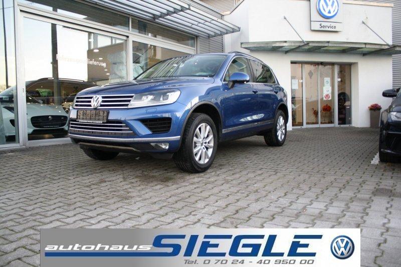 Volkswagen Touareg 3.0 TDI Luftferder*Standheizung*Navi*Leder*Xenon*Kamera*AHK, Jahr 2015, Diesel