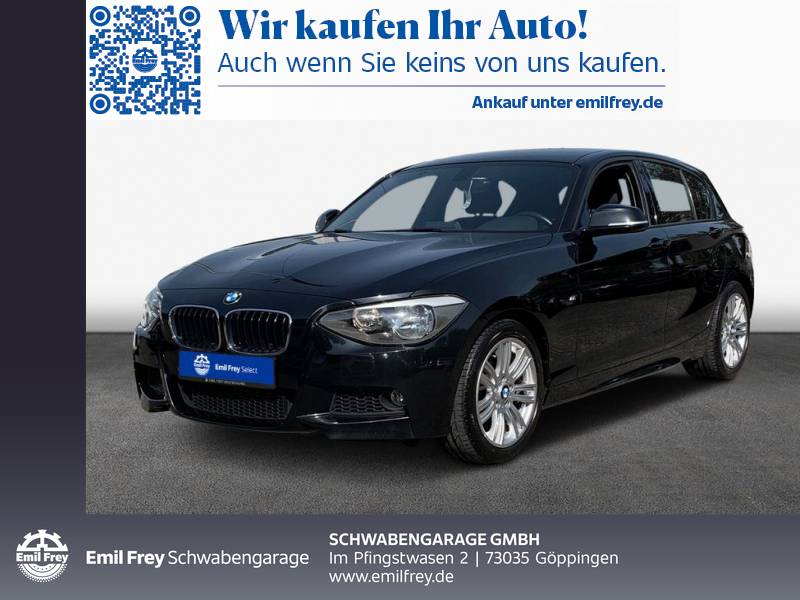 BMW 116i M-Sport BT PDC Regen-/Lichtsensor, Jahr 2014, Benzin