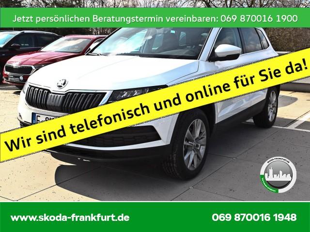 Skoda Karoq 1.5 TSI DSG Ambition Navi Front/Lane/SideAssist Rückfahrkamera KAROQ AMB TS110/1.5A7F, Jahr 2021, Benzin