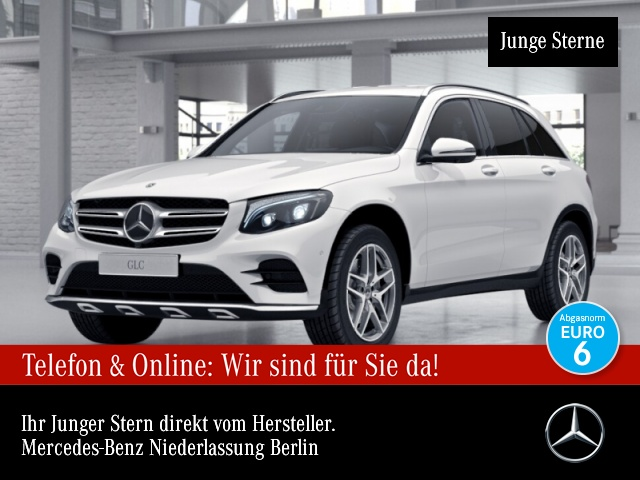 Mercedes-Benz GLC 350 d 4M AMG Fahrass 360° Stdhzg Distr. Navi, Jahr 2017, Diesel