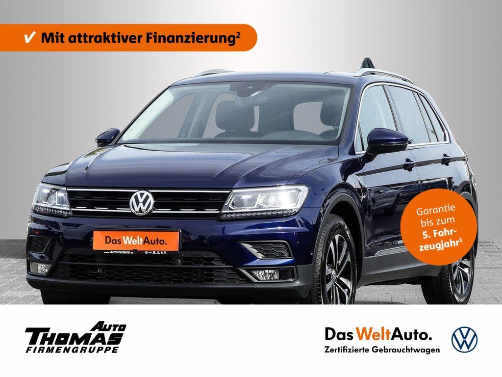 Volkswagen Tiguan UNITED 1,5 l TSI 7-Gang DSG ACC/App-Connect, Jahr 2020, Benzin