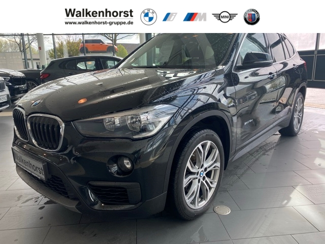 BMW X1 sDrive 18d Advantage BusinessPaket Navigation AHK Sitzheizung, Jahr 2018, Diesel