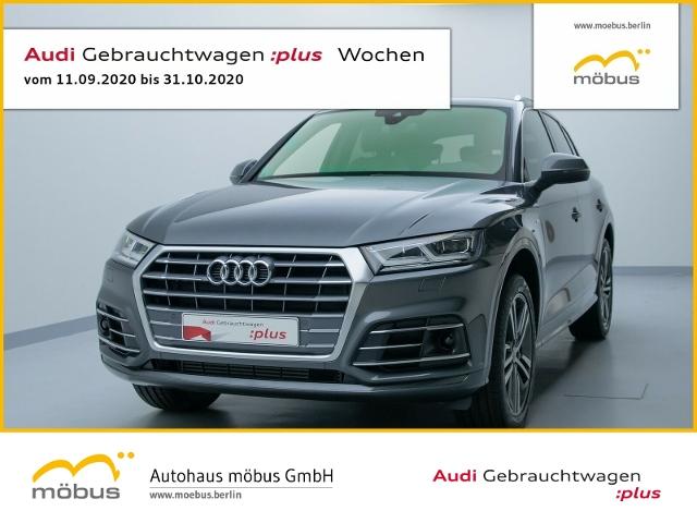 Audi Q5 45 TFSI Sport TIP-TRO*SLINE*QU*AHK*DAB*ACC, Jahr 2019, Benzin