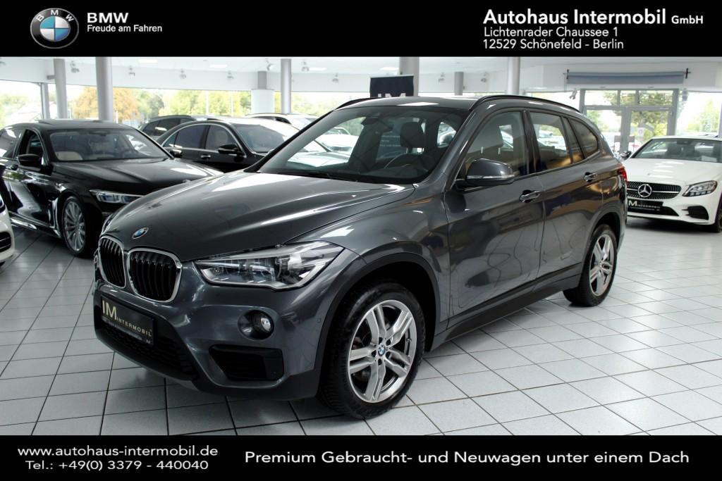 BMW X1 xDrive20i Advantage*Leder*Panorama*Navi*Autom., Jahr 2018, Benzin
