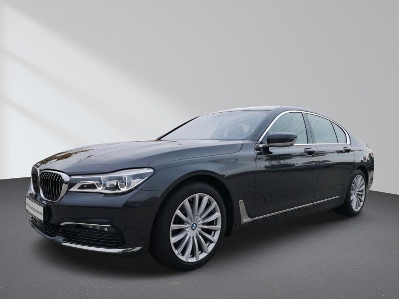 BMW 740d xDrive Navi GSHD Standh. ACC Laserlicht ahk, Jahr 2016, Diesel
