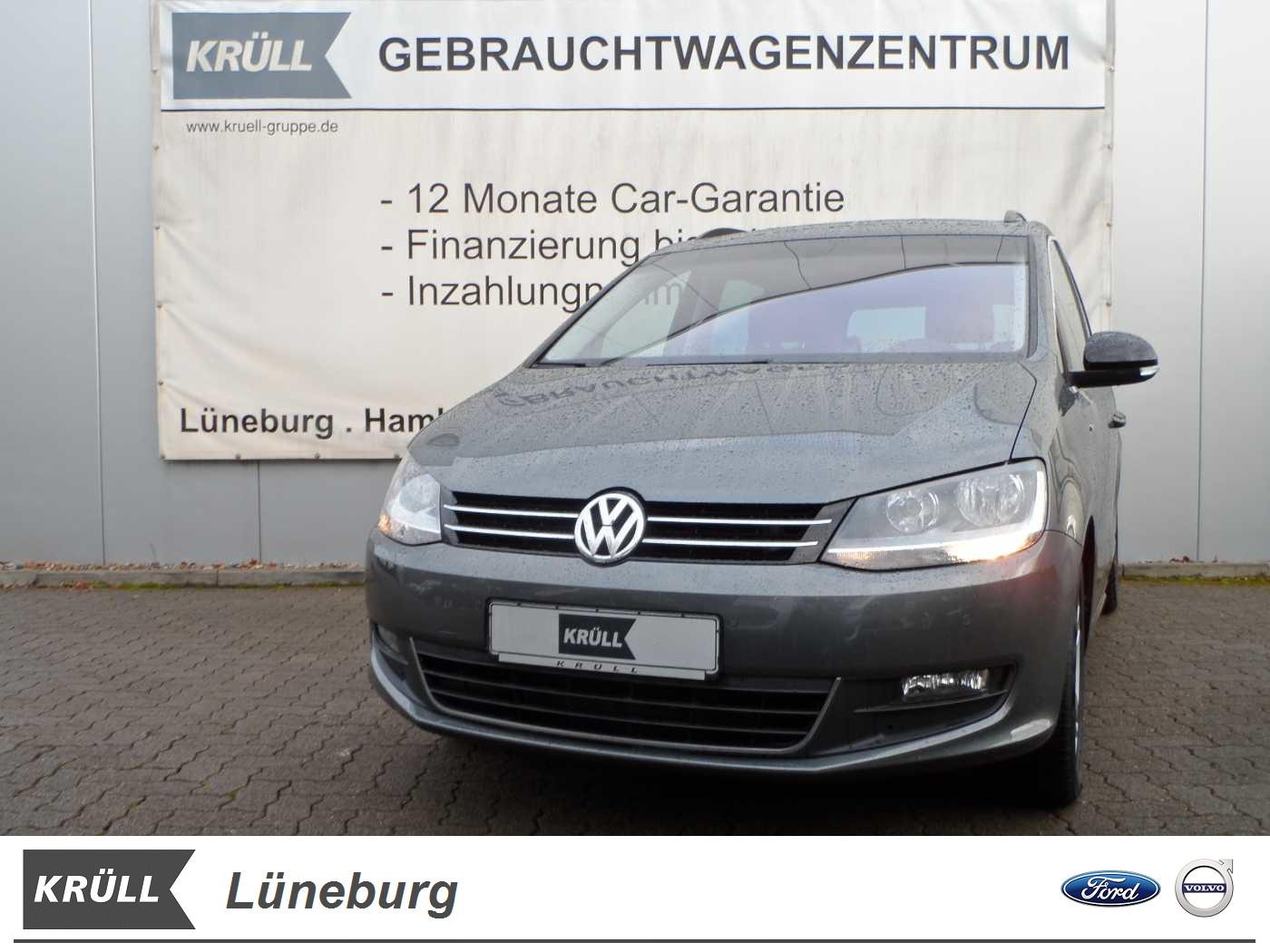 Volkswagen Sharan 2.0 TDI BMT Match *Business-, Licht & Sicht Paket, Climatronic, Jahr 2012, diesel