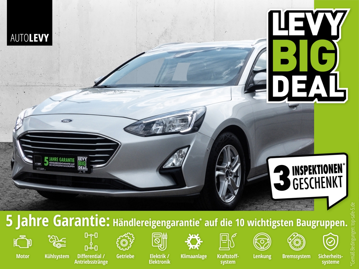 Ford FOCUS 1.0 EcoBoost *LED*NAVI*KAMERA*CARPLAY*, Jahr 2020, Benzin