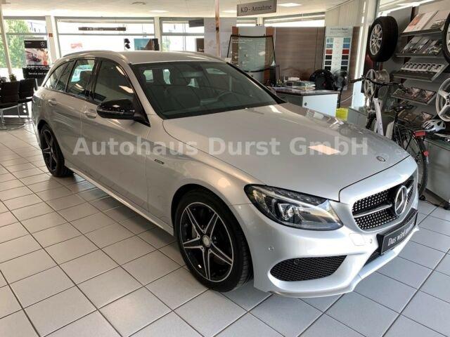 Mercedes-Benz C 43 T 4M AMG, NAVI, DISTRONIC, BURMESTER,ST-HZG, Jahr 2016, petrol