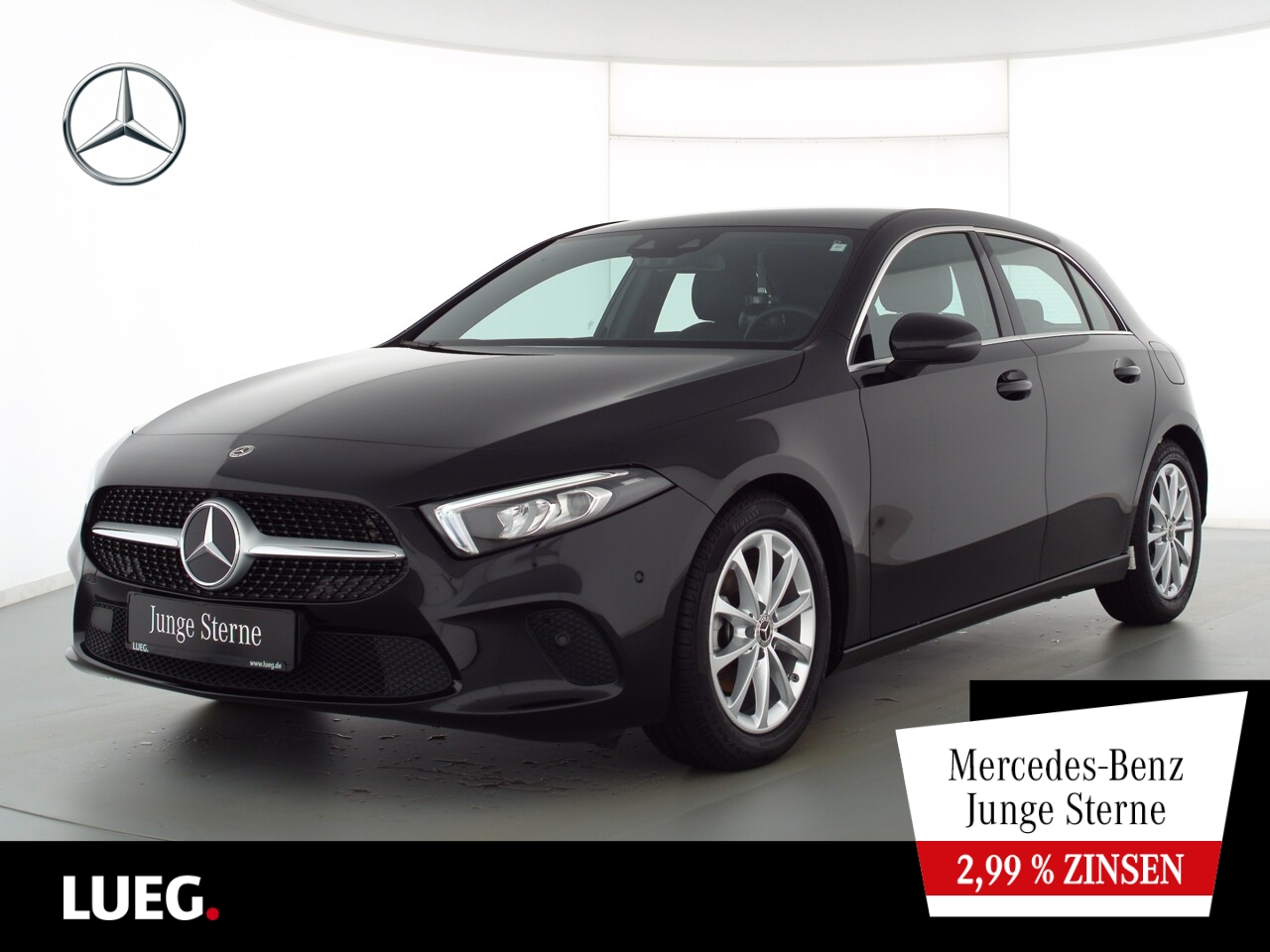 Mercedes-Benz A 180 Progressive+MBUXHighEnd+LED-HP+Park-Assist, Jahr 2020, Benzin