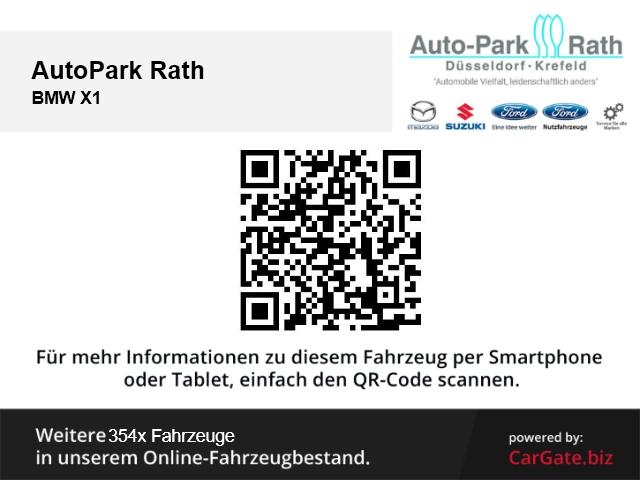 BMW X1 sDrive 20i *Parkpilot*Tempomat*AudioProfessional*, Jahr 2015, Benzin