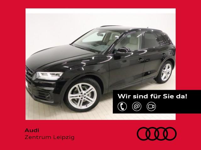 Audi Q5 55 TFSI e qu. sport S-tro. *Matrix*Pano*AHK*, Jahr 2020, Hybrid
