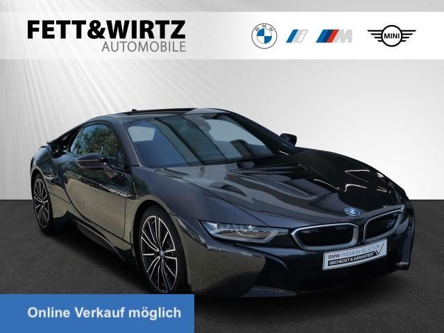 BMW i8 Coupe Laser HUD H/K 20'' Leas ab 1000,- br.o.A, Jahr 2020, Hybrid