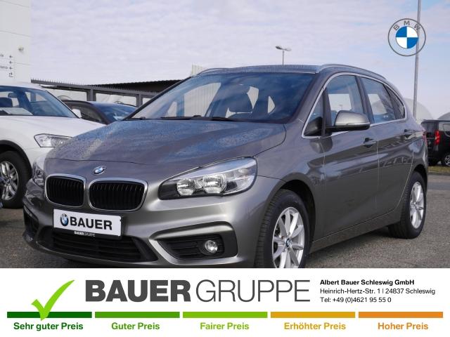 BMW 218 Active Tourer i Keyless LED-hinten LED-Tagfahrlicht Multif.Lenkrad RDC Klima SHZ PDC, Jahr 2014, Benzin