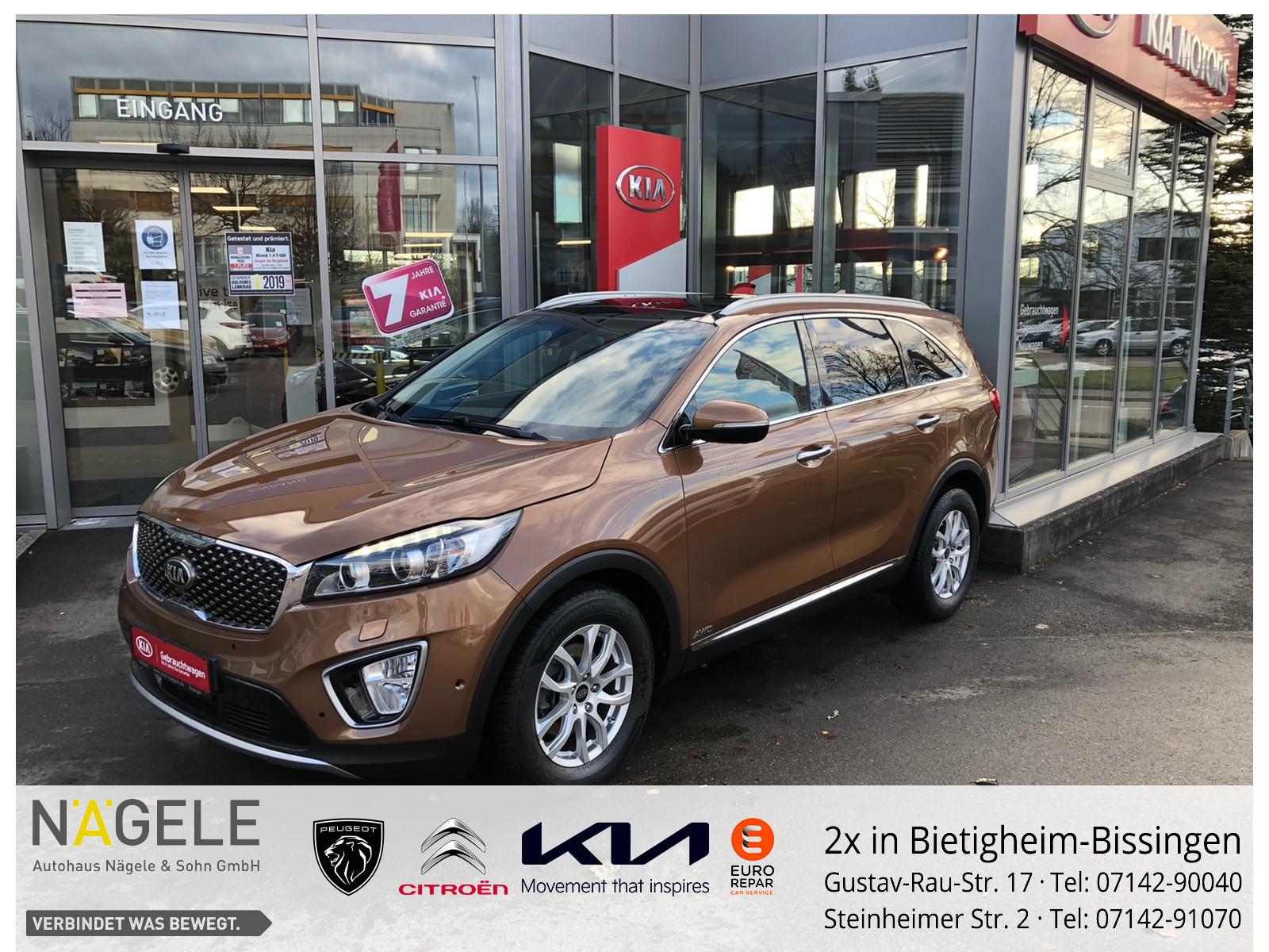 Kia Sorento Platinum Edition Aut 4WD| Navi| Pano BC, Jahr 2016, Diesel