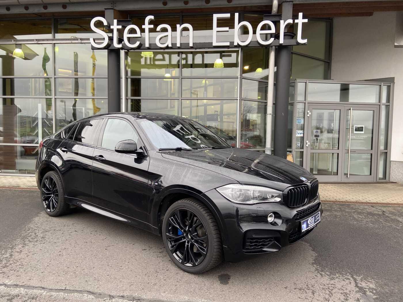 BMW X6 50i xDrive+M-SPORTPAKET+ HUD+VOLL+HÄNDLERFZG, Jahr 2016, Benzin