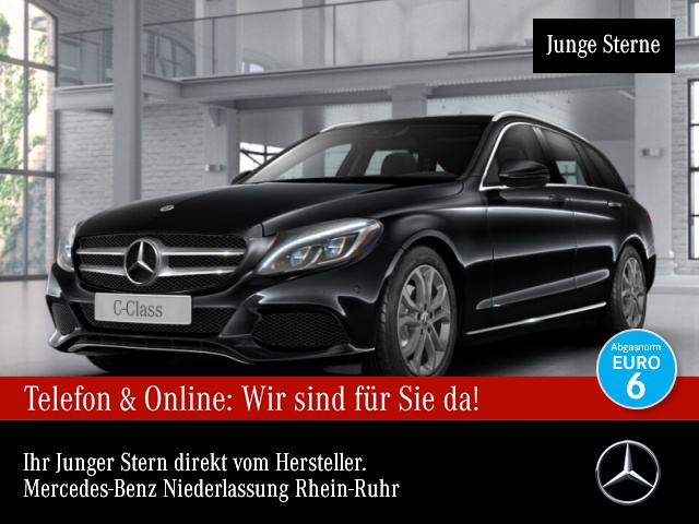 Mercedes-Benz C 220 d T Avantgarde Stdhzg ILS LED Kamera Navi 9G, Jahr 2017, Diesel