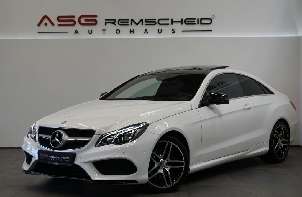 Mercedes-Benz E 250 7G-Tr. Coupe AMG Line *Pano *LED *Navi*, Jahr 2016, Benzin