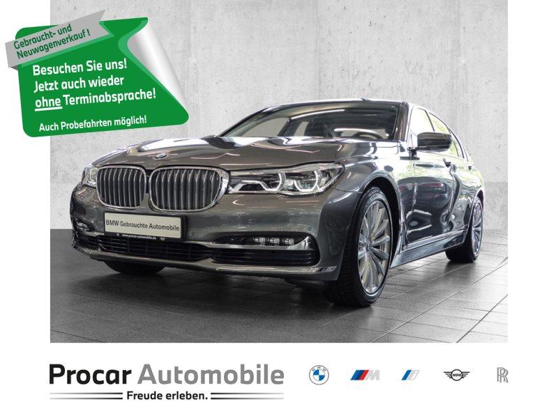 BMW 730d NAVI PROF+HUD+RFK+GESTIKST.+ADAP LED+HiFi+RTTI+SERVICE INKLUSIVE, Jahr 2016, Diesel