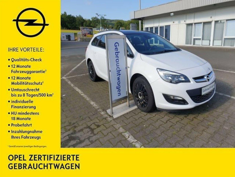 Opel Astra J 1.6 Selection (Euro 6), Jahr 2016, Benzin