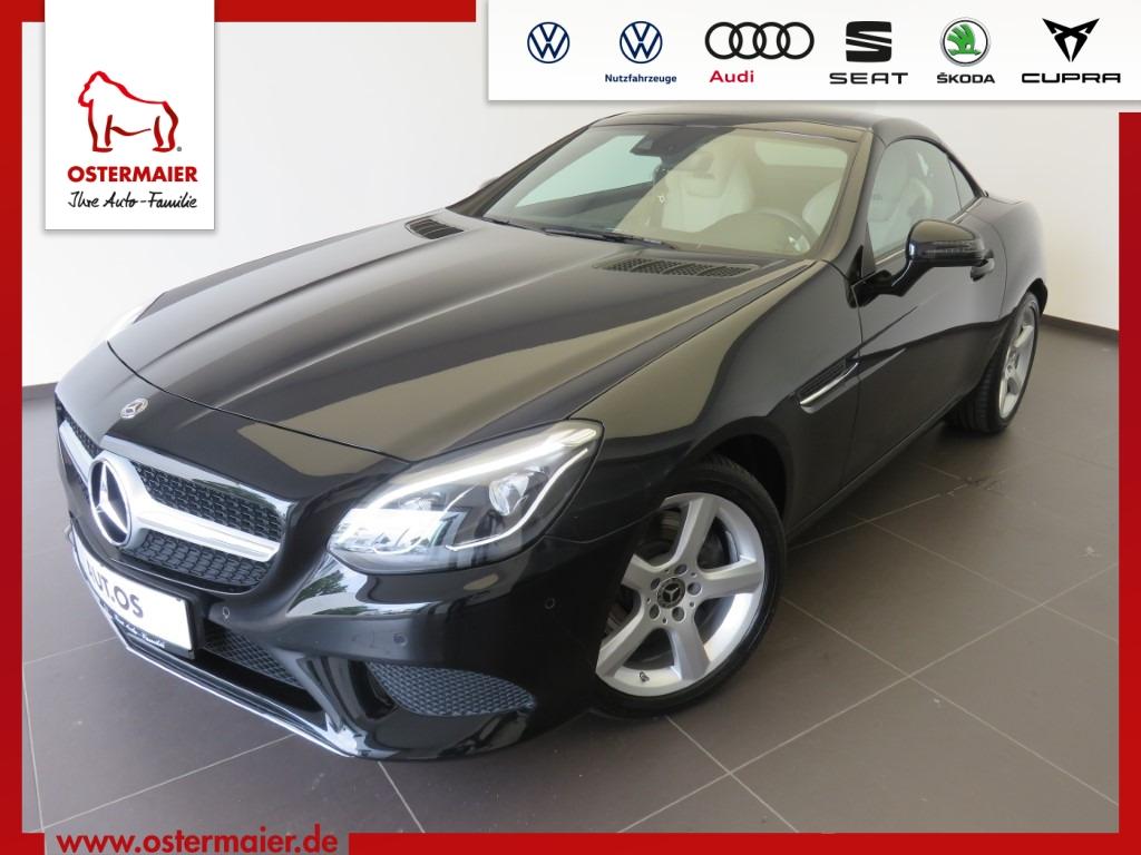 Mercedes-Benz SLC 200 184PS.AUTOM.NAVI.LEDER.AC-AUTOM.LED.17 A, Jahr 2018, Benzin