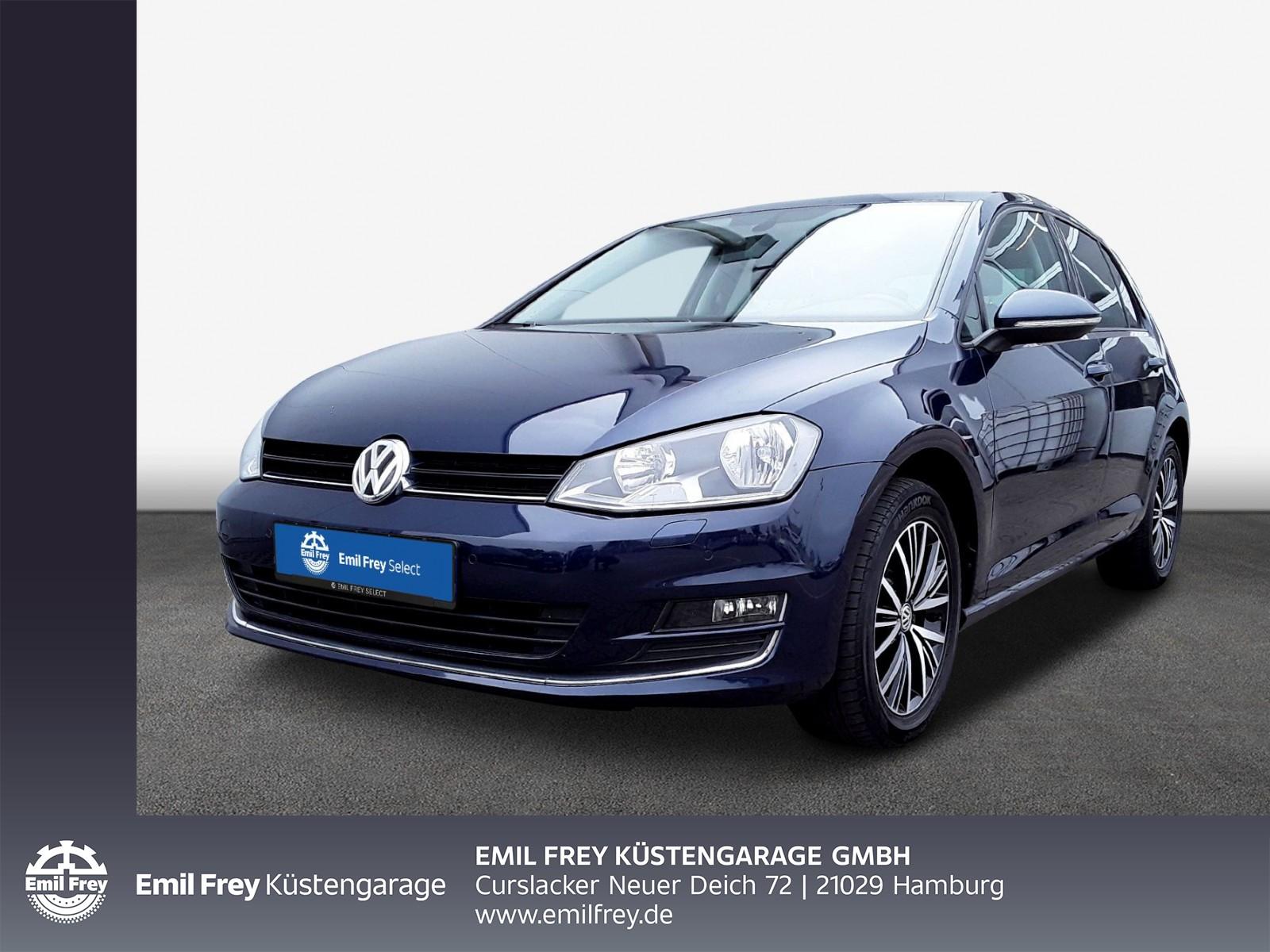 Volkswagen Golf VII 1.6 TDI Allstar, NAVI, PDC, RFK, Jahr 2016, Diesel