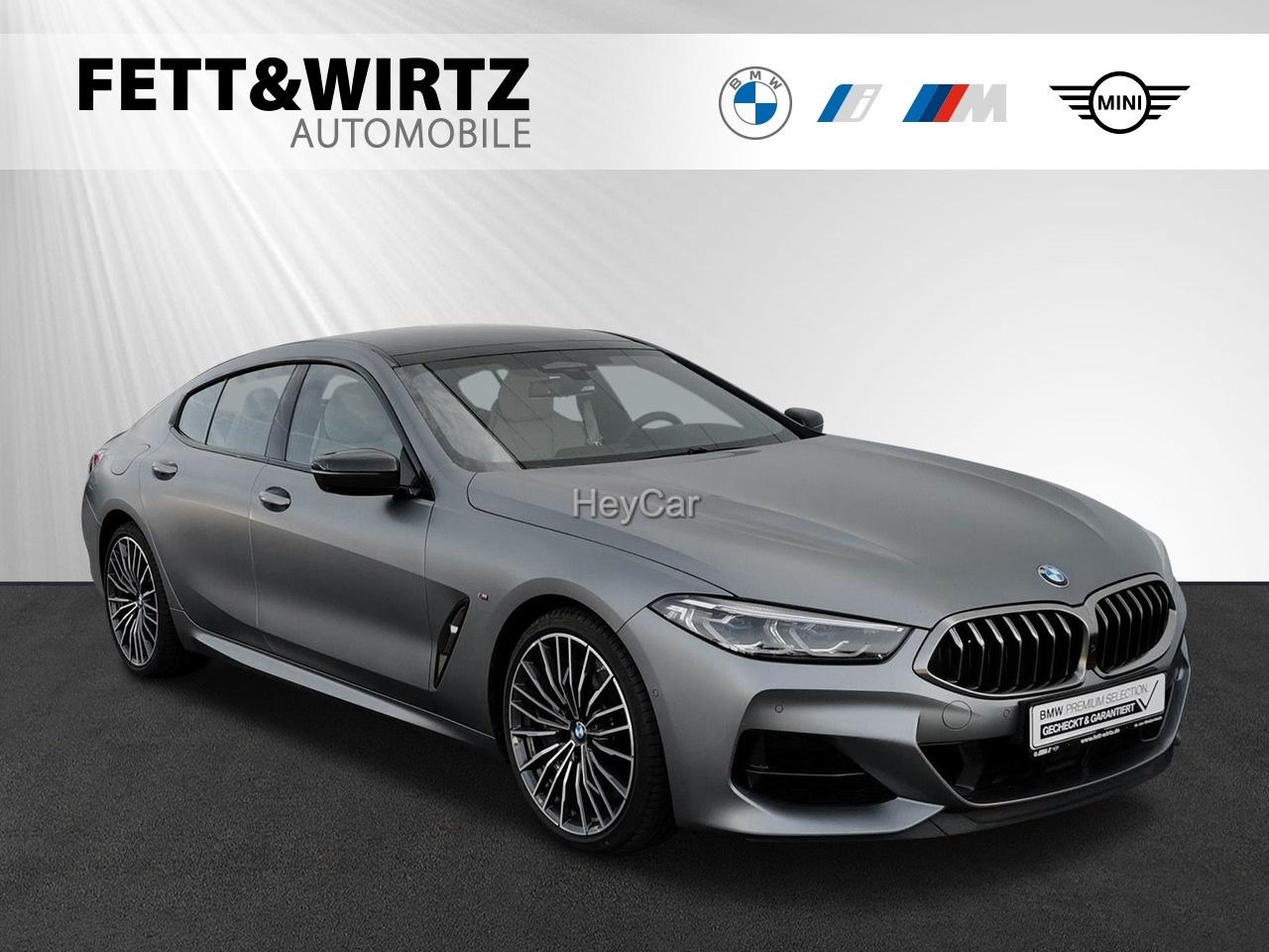 BMW M850i xD GranCoupe Leas. ab 1.096,- br.o.Anz., Jahr 2020, Benzin