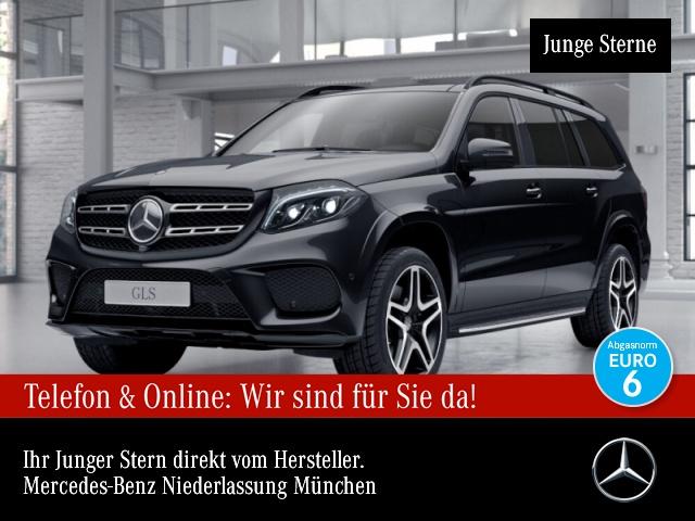 Mercedes-Benz GLS 500 4M AMG 360° Airmat Stdhzg Pano Harman AHK, Jahr 2016, Benzin