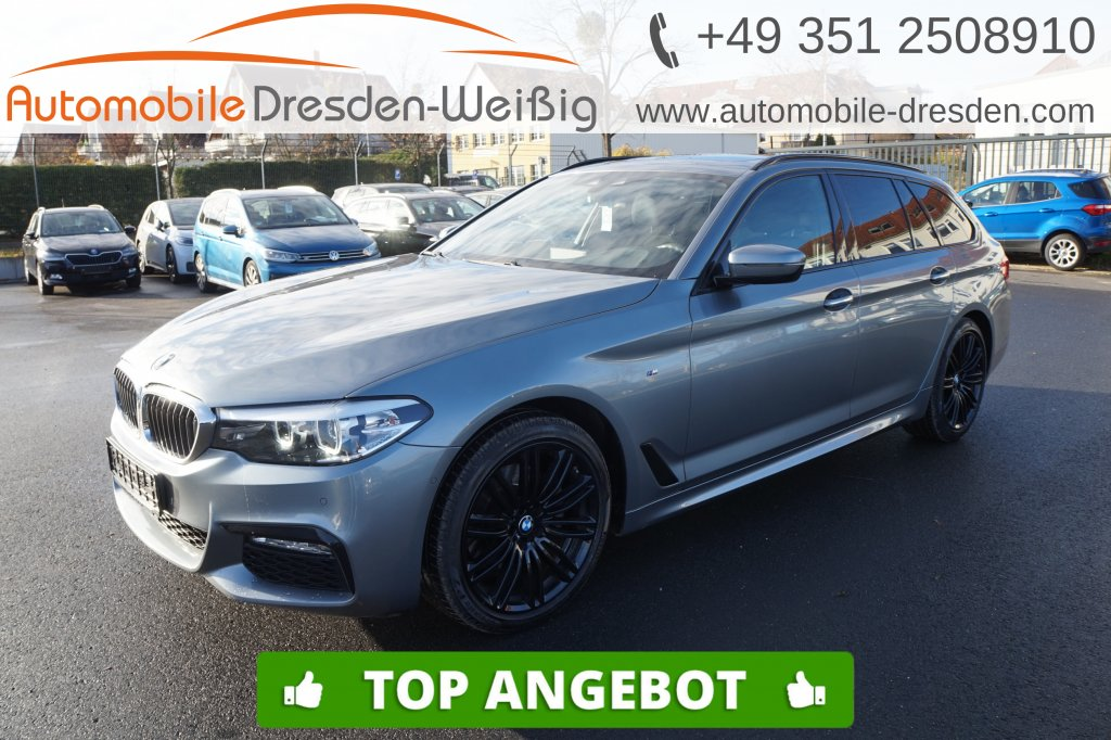 BMW 520 d Touring xDrive M Sport*Navi Prof*Pano*HiFi, Jahr 2017, Diesel