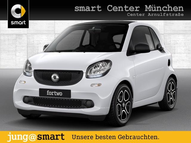 smart fortwo coupé 66kW DCT cool&Media SHZ Pano JBL, Jahr 2018, Benzin